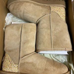 UGG Classic Short Glitter Boots